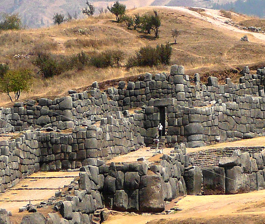Pictures Peru Sacsayhuaman Inca temple Cusco