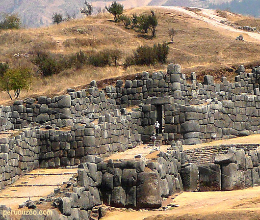 Sacsayhuaman in Cusco, the magnigic Inka construction